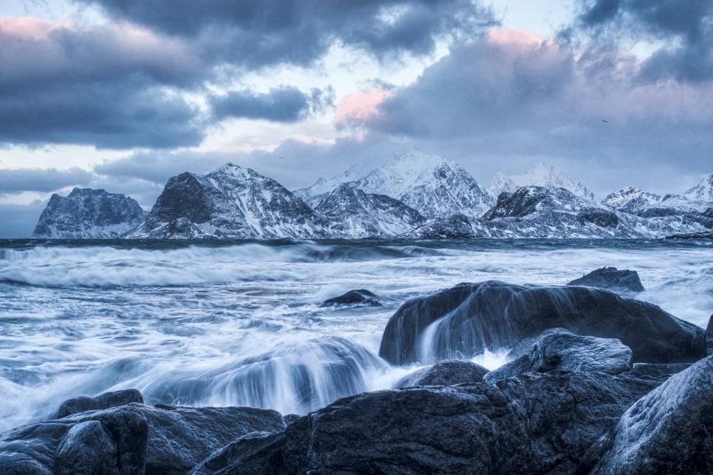 See, Berg, Wandern, Landschaft, Natur